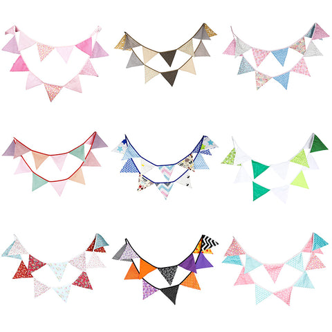 pre-order 3.2M Fabric Bunting