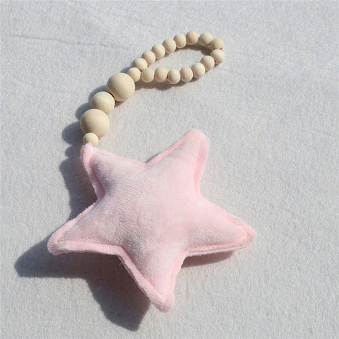 PRE-ORDER Plush Star Wooden Wall Hanging