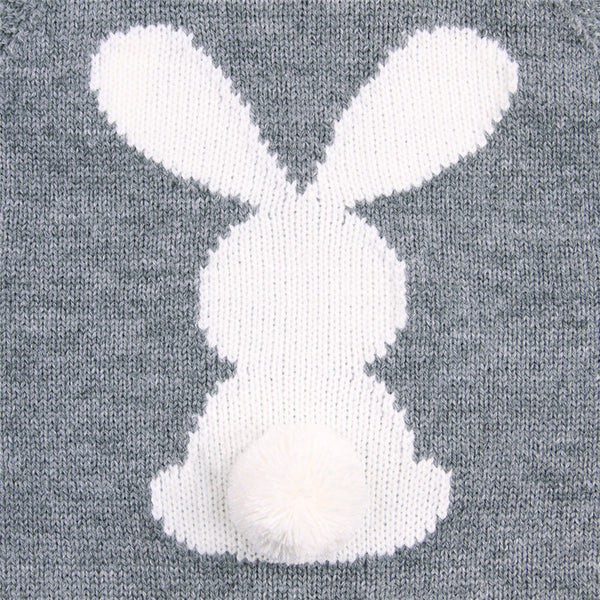 Pre-order Bunny Tail Knit romper