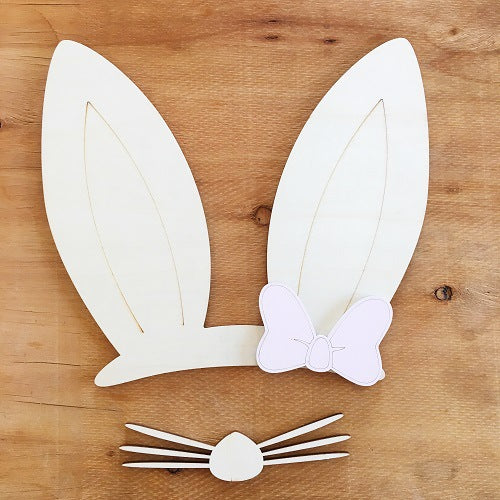 Pre-order wooden Bunny Wall Decoration
