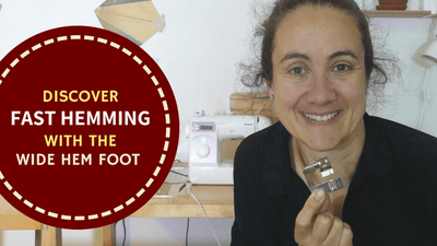 Discover Fast Hemming With The Wide Hem Foot