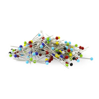 Glass Head Pins - 200 Pins Value Pack