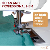 "3PCS wide rolled hem foot set (1/2"", 3/4"" and 1"")"