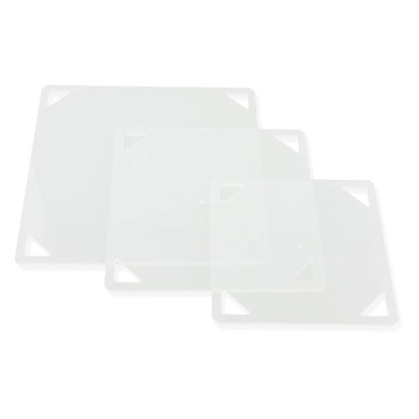 3PCS Patchwork Square Template Set 4