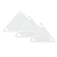"3PCS Patchwork Triangle Template Set 4""/ 5""/ 6"""