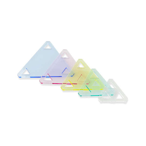 5PCS Patchwork Triangle Template Set 1 1/2