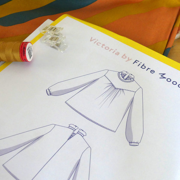 Madamsew Happy Box Blouse Pattern