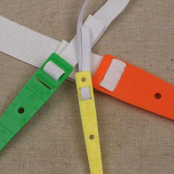 Elastic Threader Tool 3 Sizes - Easily thread elastic and ribbons into casings - Free Gift
