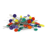 Long Flower Pins - 200 Pins Value Pack