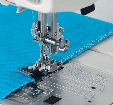 Overcast/Overlock foot - Use your sewing machine as a serger