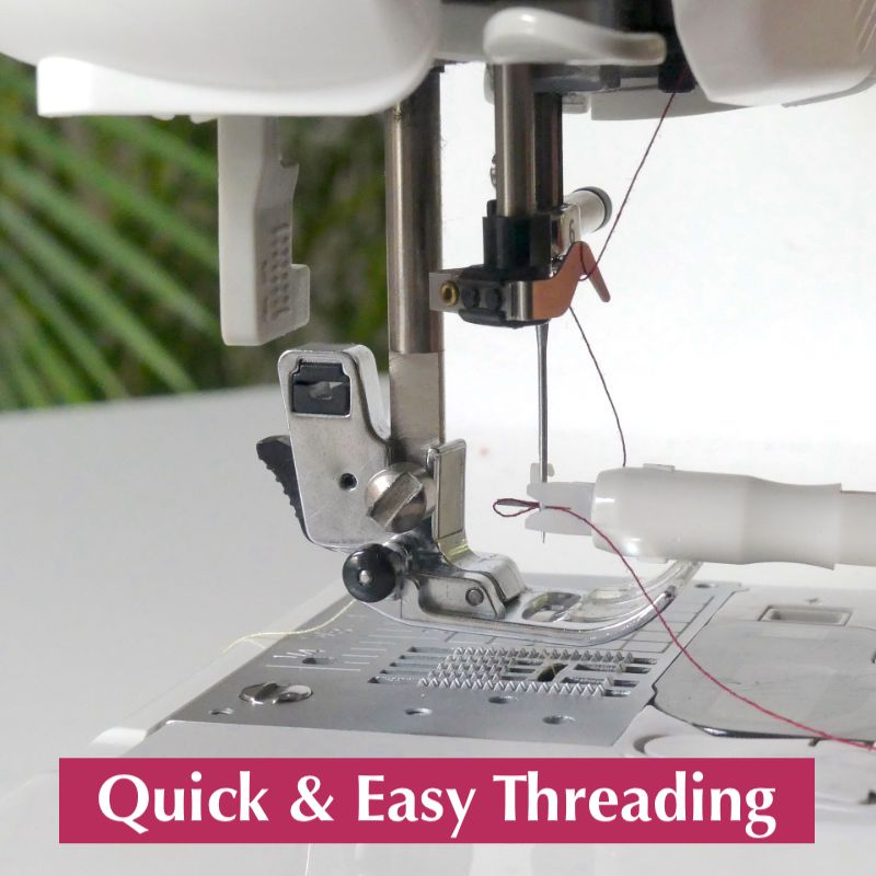 Ultimate Needle Inserter and Threader for Sewing Machines - Free Gift
