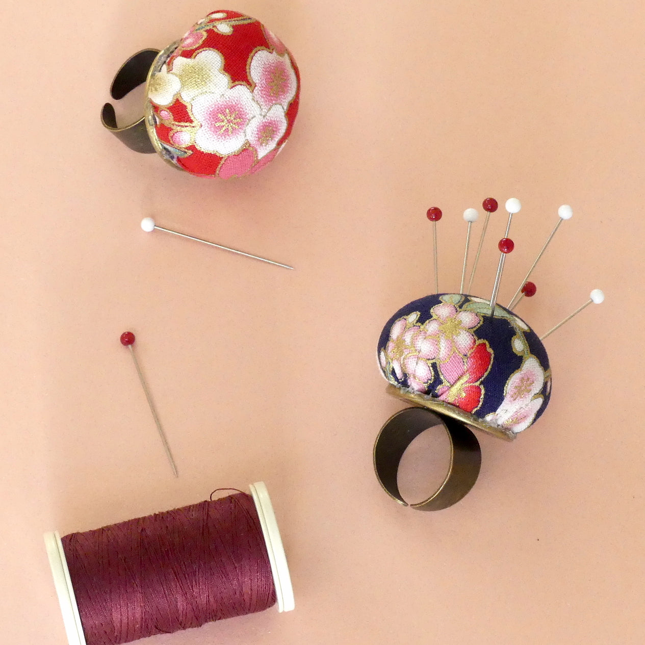 Ring Pin Cushion 2 PCS