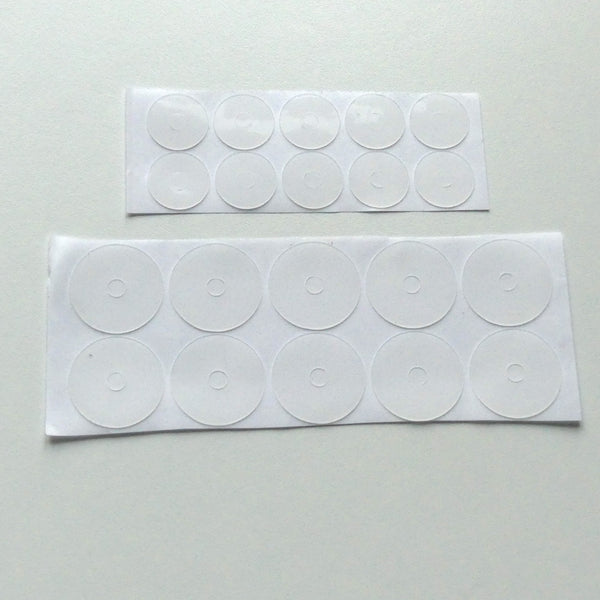 Non-Slip Adhesive Rings for Rulers and Templates