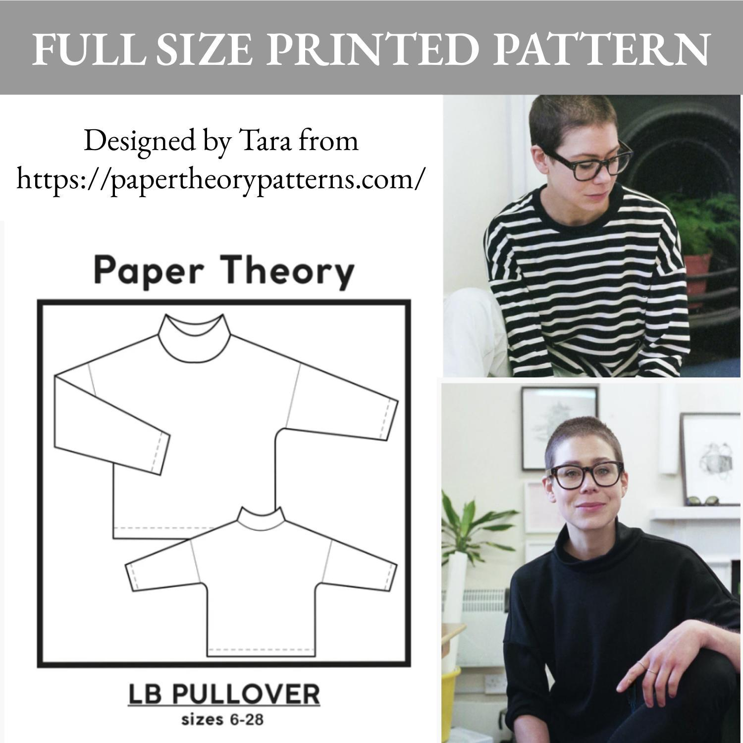 MadamSew Sew Happy Box Sweater Pattern