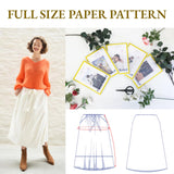 MadamSew Sew Happy Box Midi Skirt Pattern
