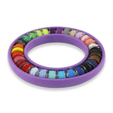 Bobbin Ring with 30 Prewound Bobbins