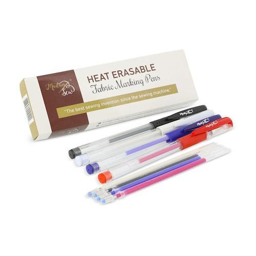 Heat Erasable Fabric Marking Gel Pens +