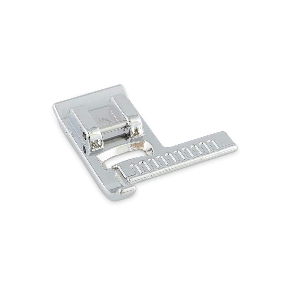 Presser Foot With a Ruler