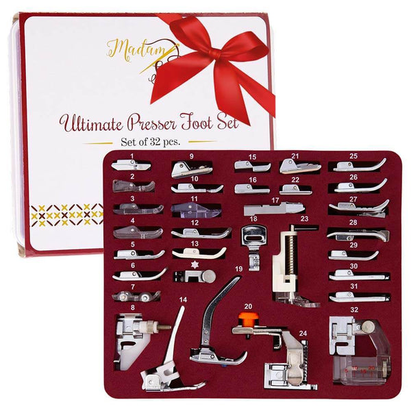 Ultimate Presser Foot Set 32pcs