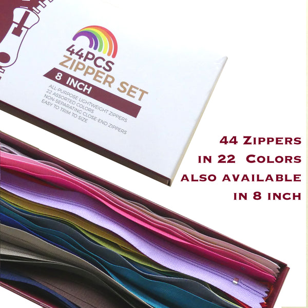 44pcs Zipper Set - Large (18 inch)