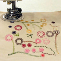 Flower Stitch Presser Foot - Make pretty little flowers and circular designs