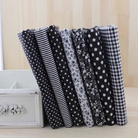 Fat Quarter Bundle - Black - 7 pcs