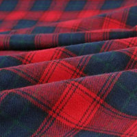 Checkered Flannel 16 - by the 1/2 yrd