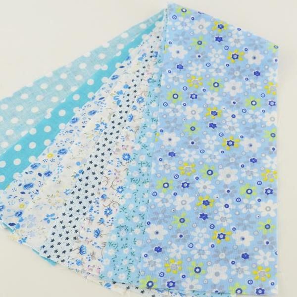"Pastel Blue Jelly Roll bundle  - 7 pcs 3.5"" x 19.5"""