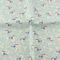 Little Birds & Flowers - by the 1/2 yd