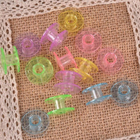 Colorful 25 PCS Bobbins + storage case
