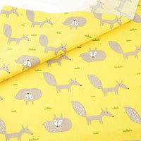 Foxy Yellow - by the 1/2 yd