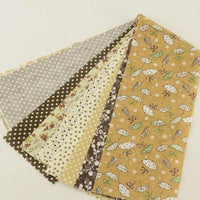 "Brown Jelly Roll bundle  - 7 pcs 3.5"" x 19.5"""