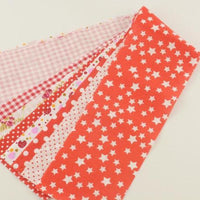 "Red Jelly Roll bundle  - 7 pcs 3.5"" x 19.5"""