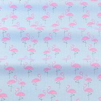 Little Pink Flamingos - by the 1/2 yd