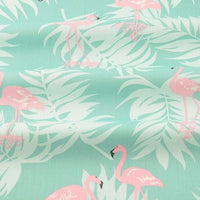 Pink Jungle Flamingo - by the 1/2 yd