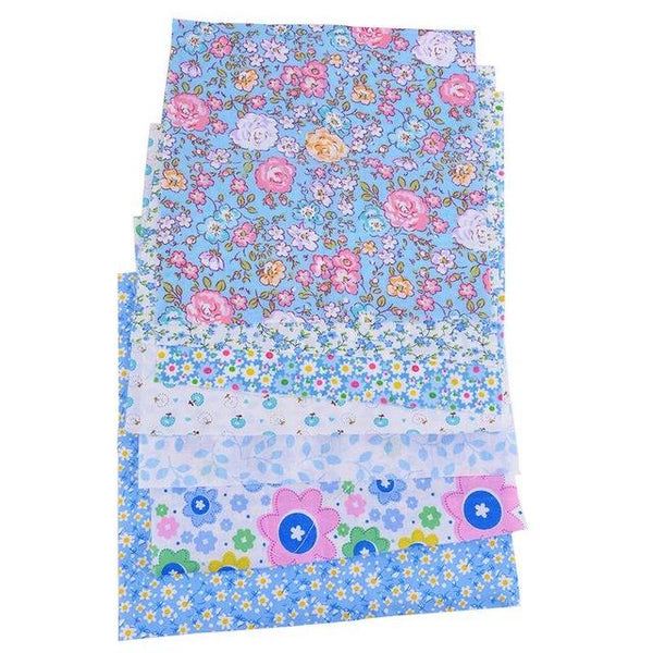 Blue Flower Fantasy - 7 pcs 10