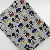 Donald Mickey & Goofy Jersey Knit - by the 1/2 yrd