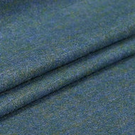 Prussian Blue 40% wool - by the yard