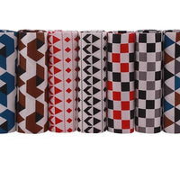 "Geometric Patterns - 7 pcs of 15.5"" x 19.5"""