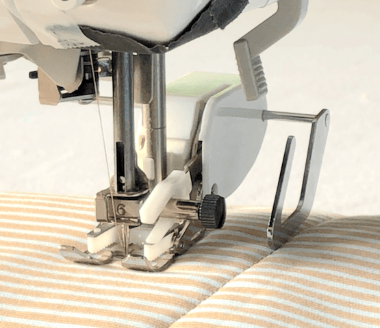 Open Toe Walking Foot/Even Feed Foot for Low Shank Sewing Machine