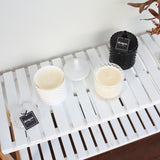 Matte Black Geo Soy Candle