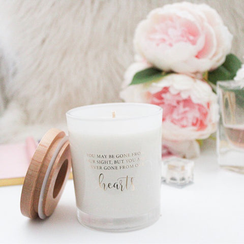 Memorial Soy Candle
