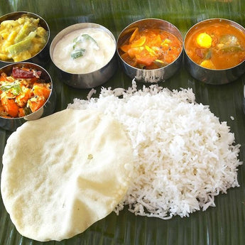 Banana Leaf Vegetarian Feast