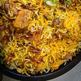 Mutton Dum Briyani and More!