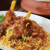 Smoky and Wonderful - Lamb Shank Biryani