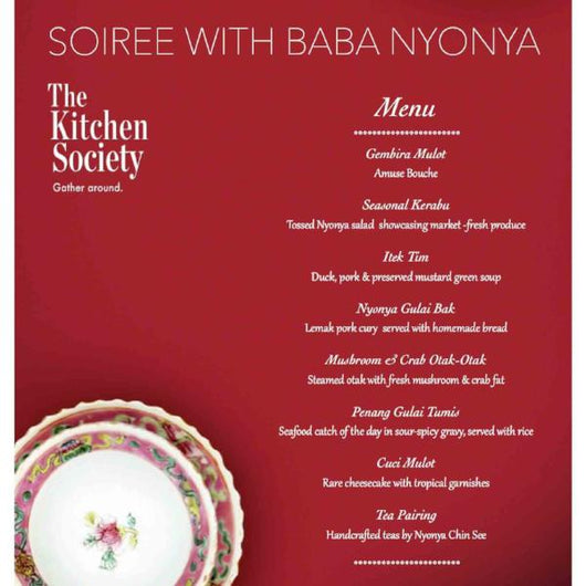 Soiree with Baba Nyonya (Private Dining)