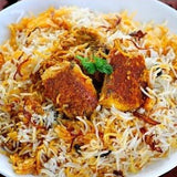 Salmon Dum Biryani & More