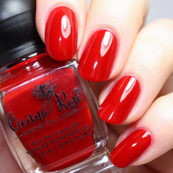 Cienna Rose Seductress Nail Polish