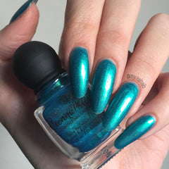 Cienna Rose Blue Me Away Nail Polish