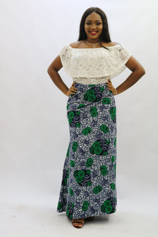 ANNIE maxi wrap skirt - 1084 - tmpfashion